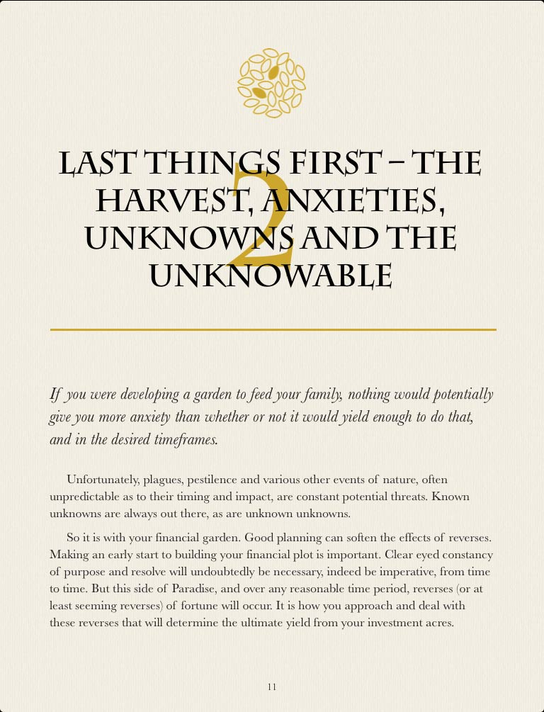 Chapter 2 extract - The Little Green Book - A Gardener's Guide to Investing